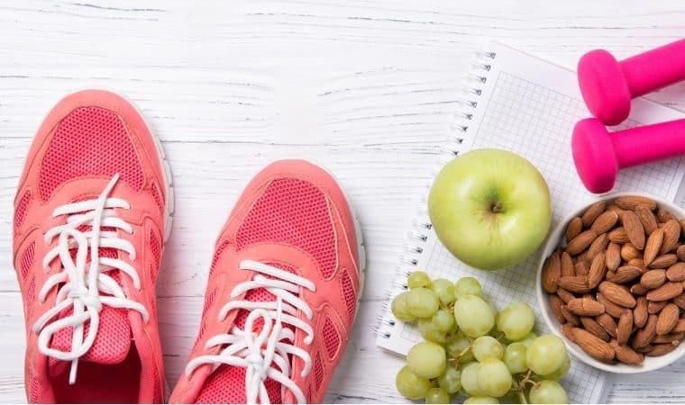 exercícios físicos e alimentação