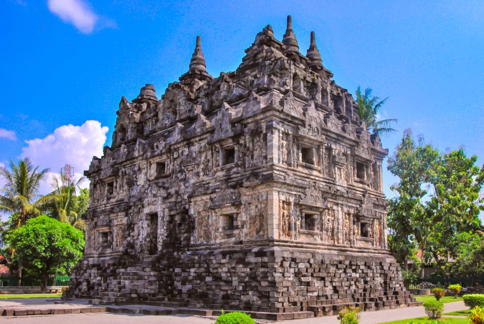 Candi Sari – served as a Buddhist monastery
