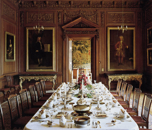 Dining Room At Lyme Park