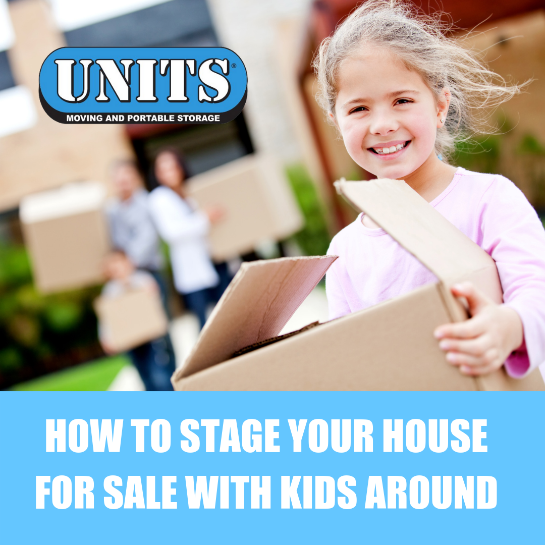 How to Stage Your House for Sale With Kids Around