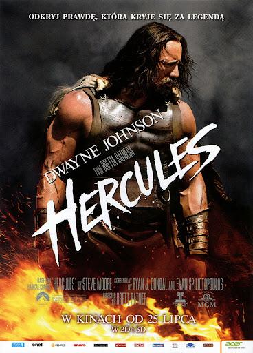 Przód ulotki filmu 'Hercules'