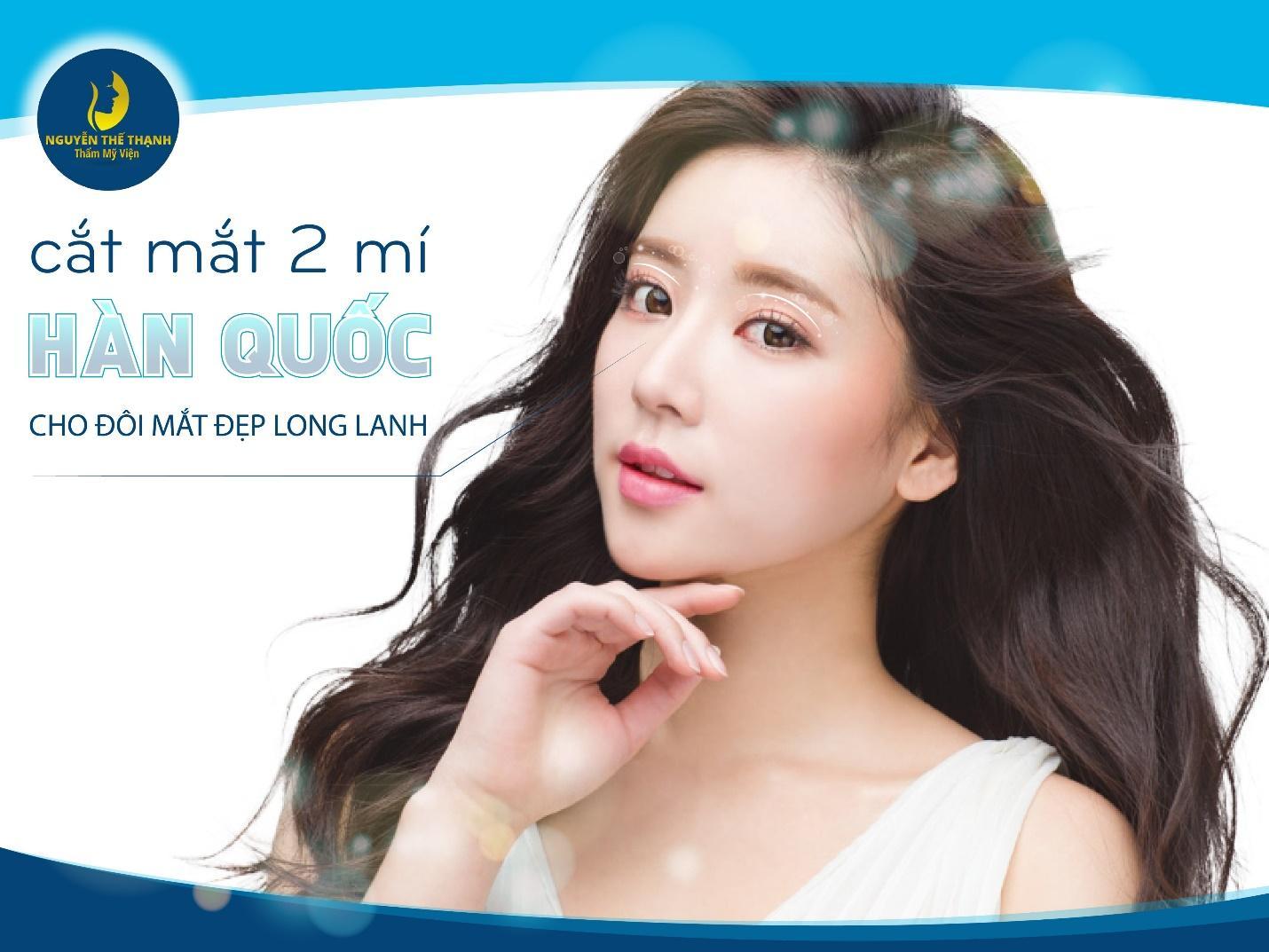 Cắt mắt 2 mí Hàn Quốc: Mắt đẹp long lanh - Ảnh 1