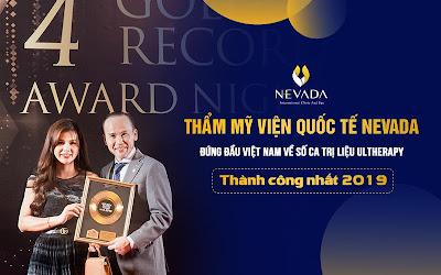 Các giải thưởng thẩm mỹ viện Nevada đã đạt được