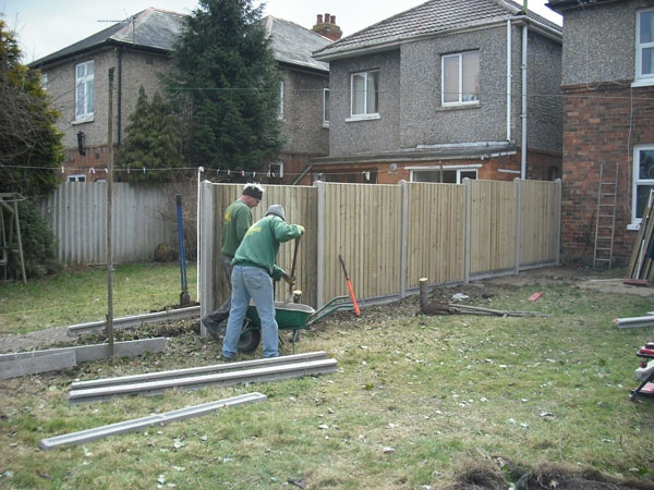 What Type Of Wood Do You Use For The Fencing? Bournemouth Garden Fence  Company: ...