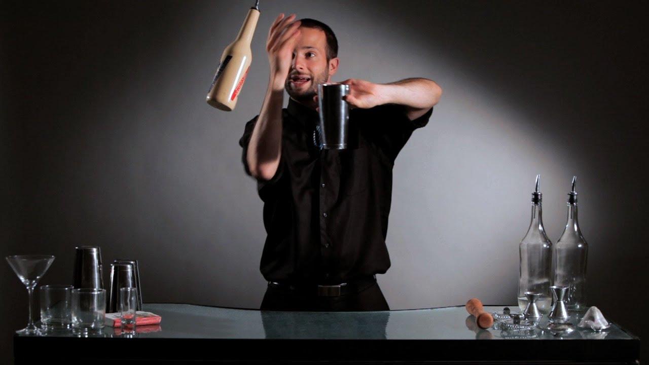 juggling bartender