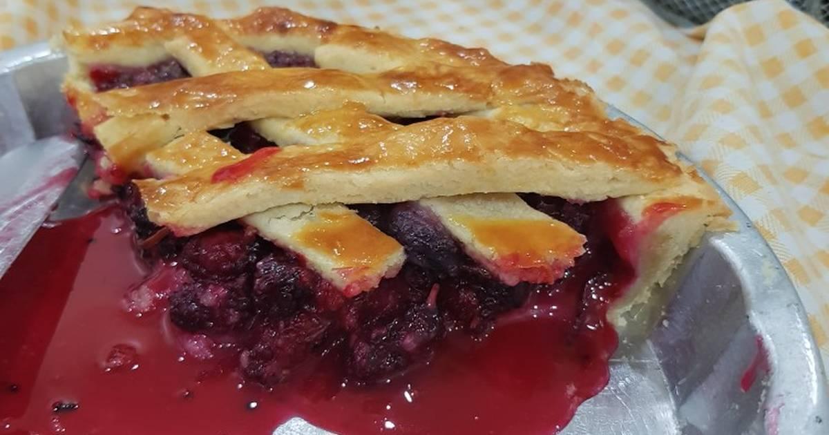Mulberry pie Recipe