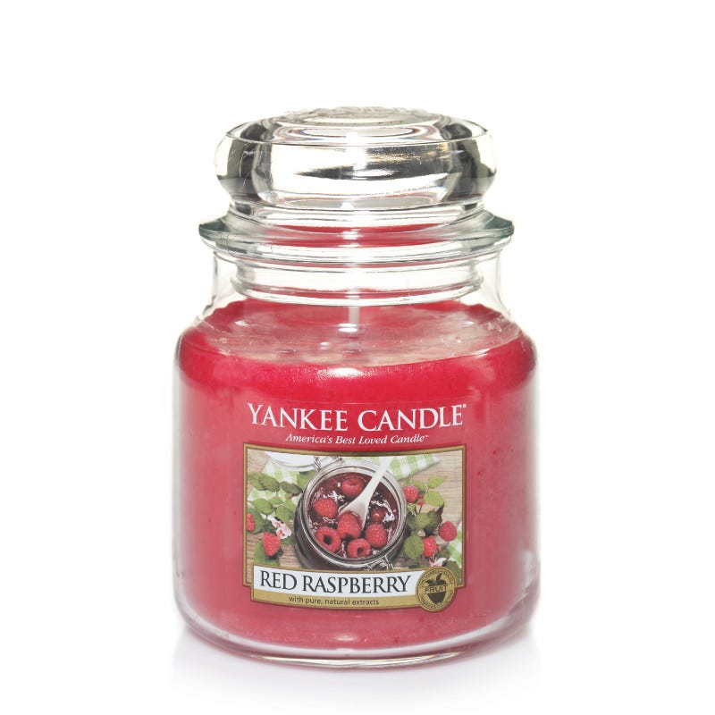 Clintons Red Raspberry Yankee Candle