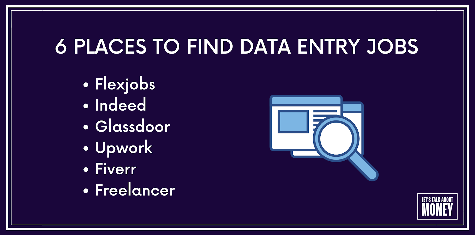 Best places to find data entry jobs
