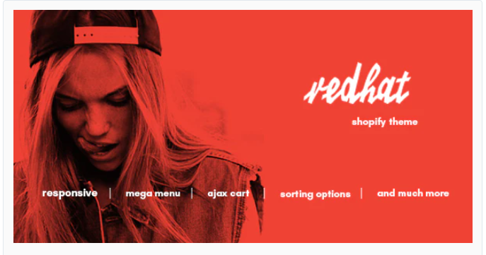 Redhat - Shopify clothing themes