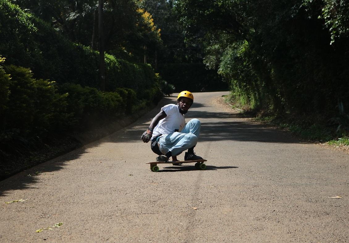 longboarding pendulum slide, downhill skateboarding progression