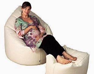 Ghế lười mang lại sự êm ái, hạnh phúc cho mẹ và con
