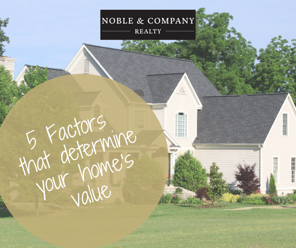5 factors that determine your home's value-outside of white house with overlay