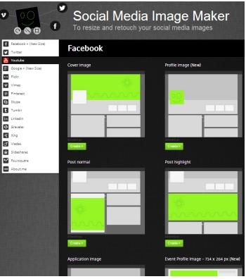 social media img maker
