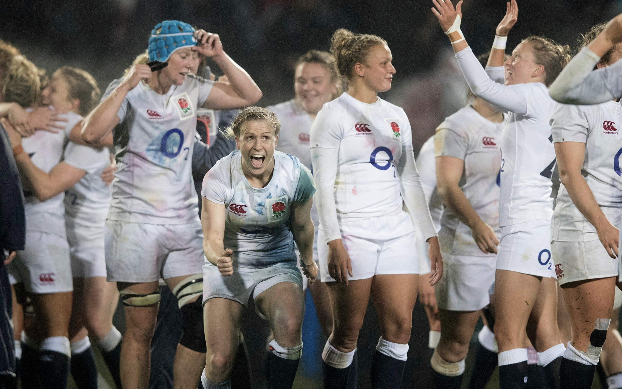 Women's England Rugby Team