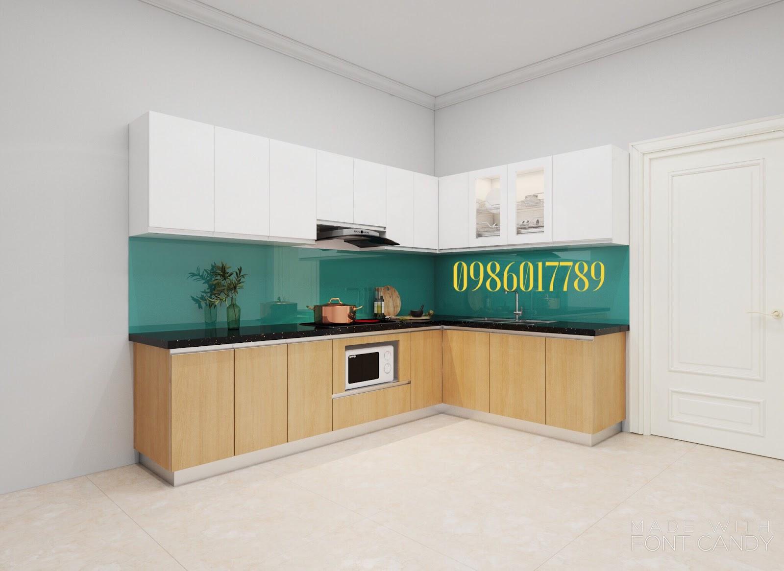 tủ bếp đẹp ở Hải Phòng