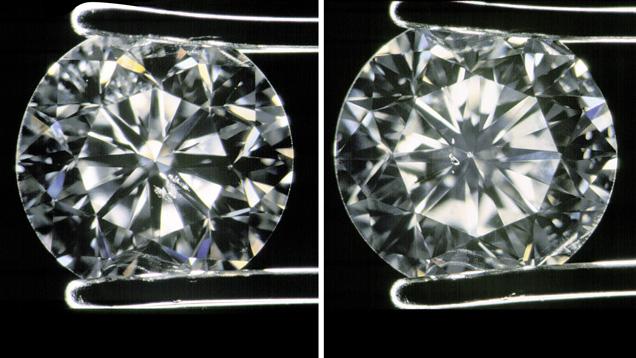 Identifying Diamonds