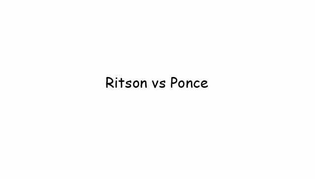 Ritson vs Ponce
