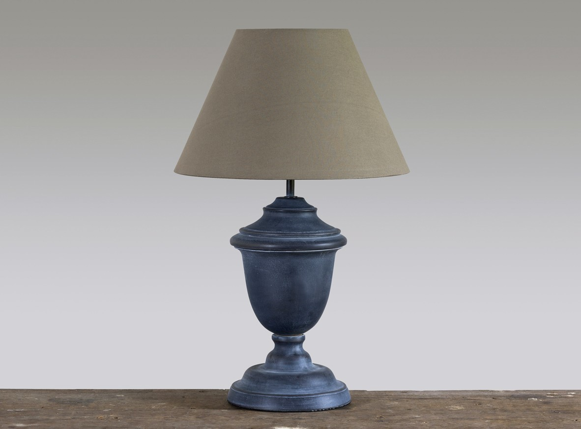 vintage lighting with empire lampshade