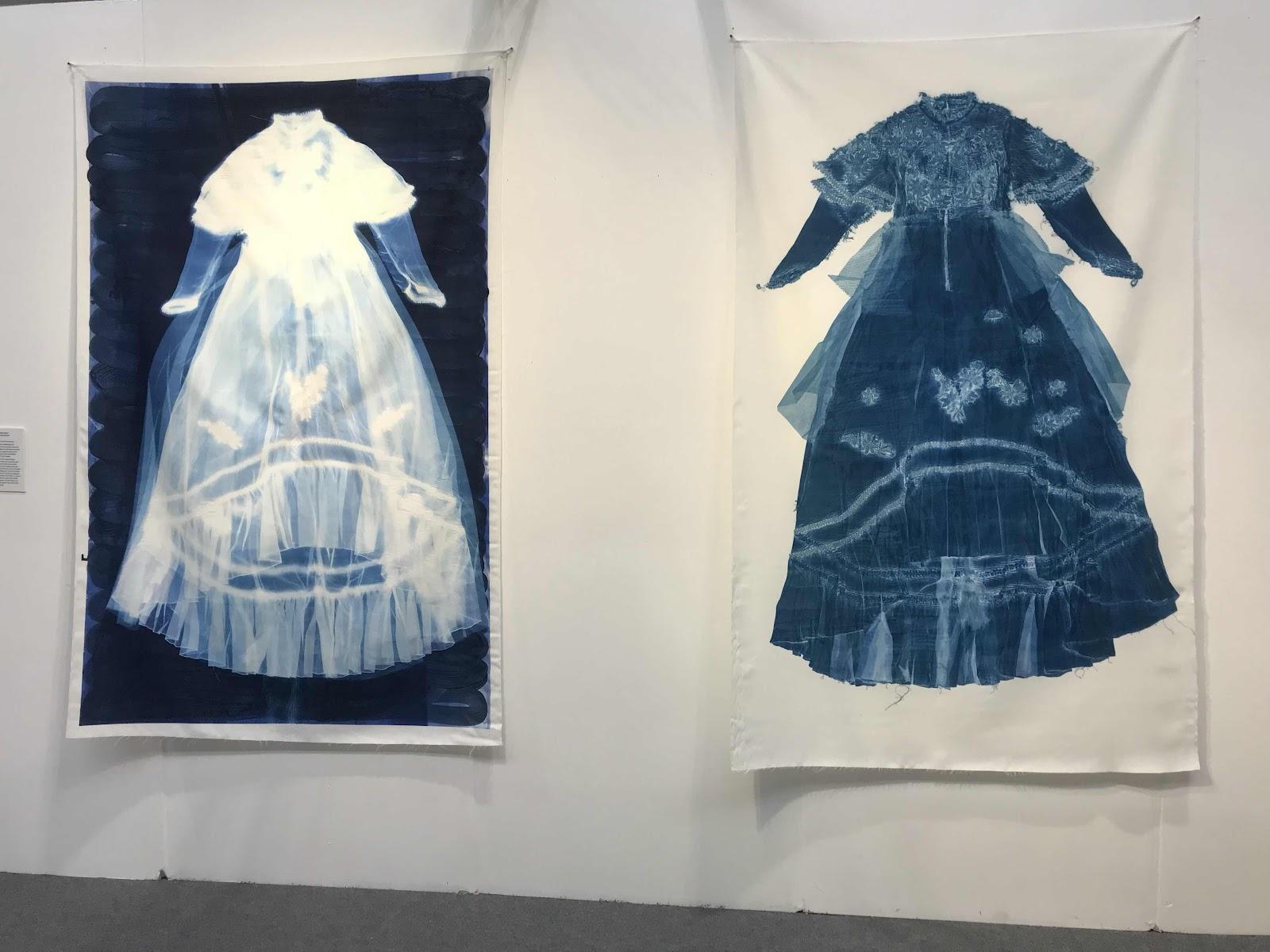 Cyanotypes quilt