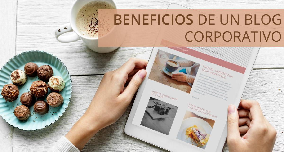 Beneficios de crear un blog corporativo