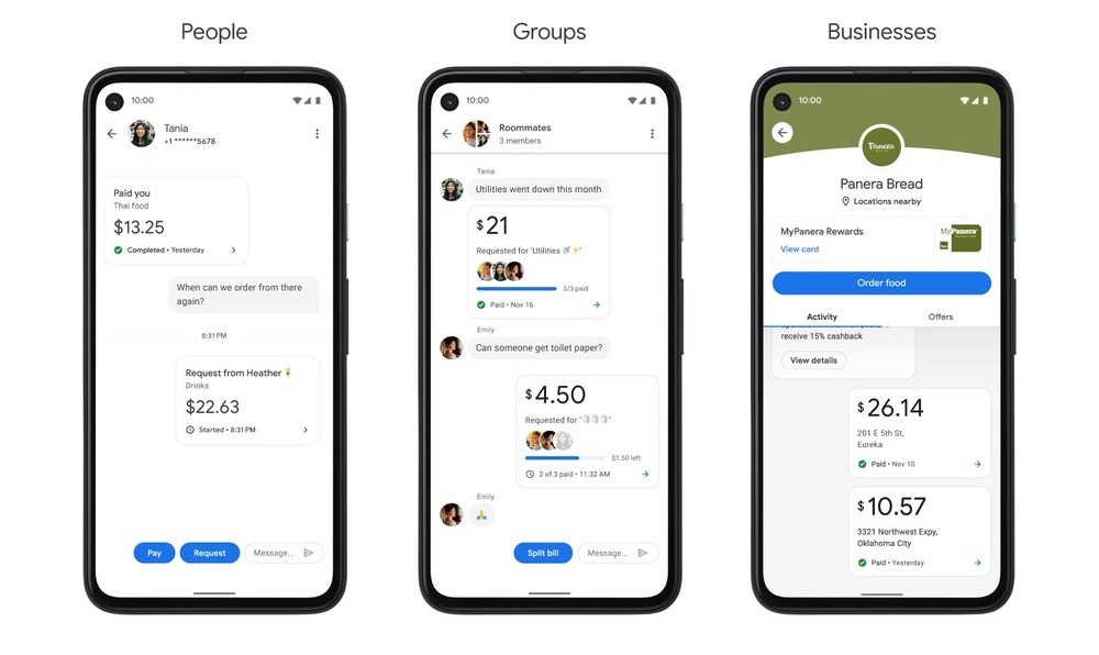 Nova forma de enxergar seus pagamentos no app