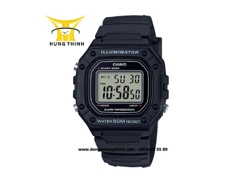 Với độ chống nước lên tới 50ATM, bạn có thể thoải mái đi bơi hoặc lặn nông mà vẫn không lo đồng hồ của mình bị hỏng!