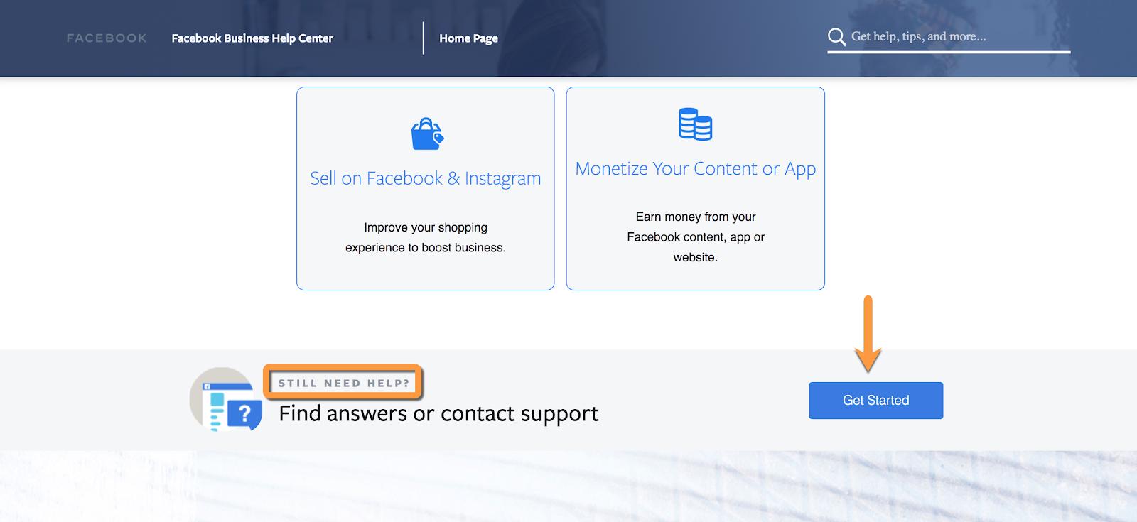 facebook ads customer service