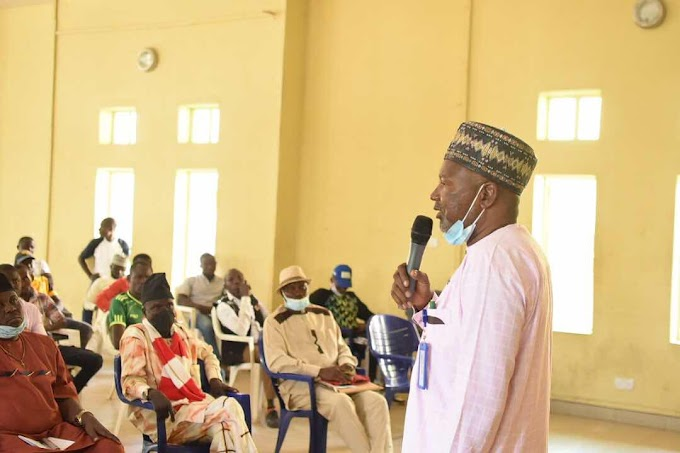 """""""This is the first Capacity training in Gombe State since 1986"""" - Gombe Sports Commission Chairman"""