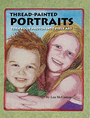 Thread Painted Portraits by [McComas, Lea, Brewster, Janice]
