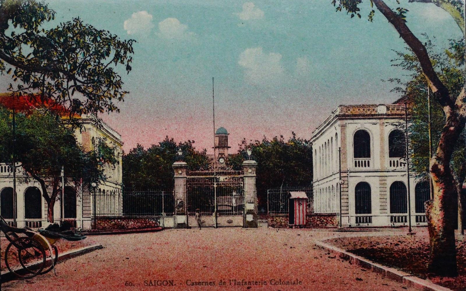 Sài Gòn độc đáo qua ảnh tô màu thời Pháp