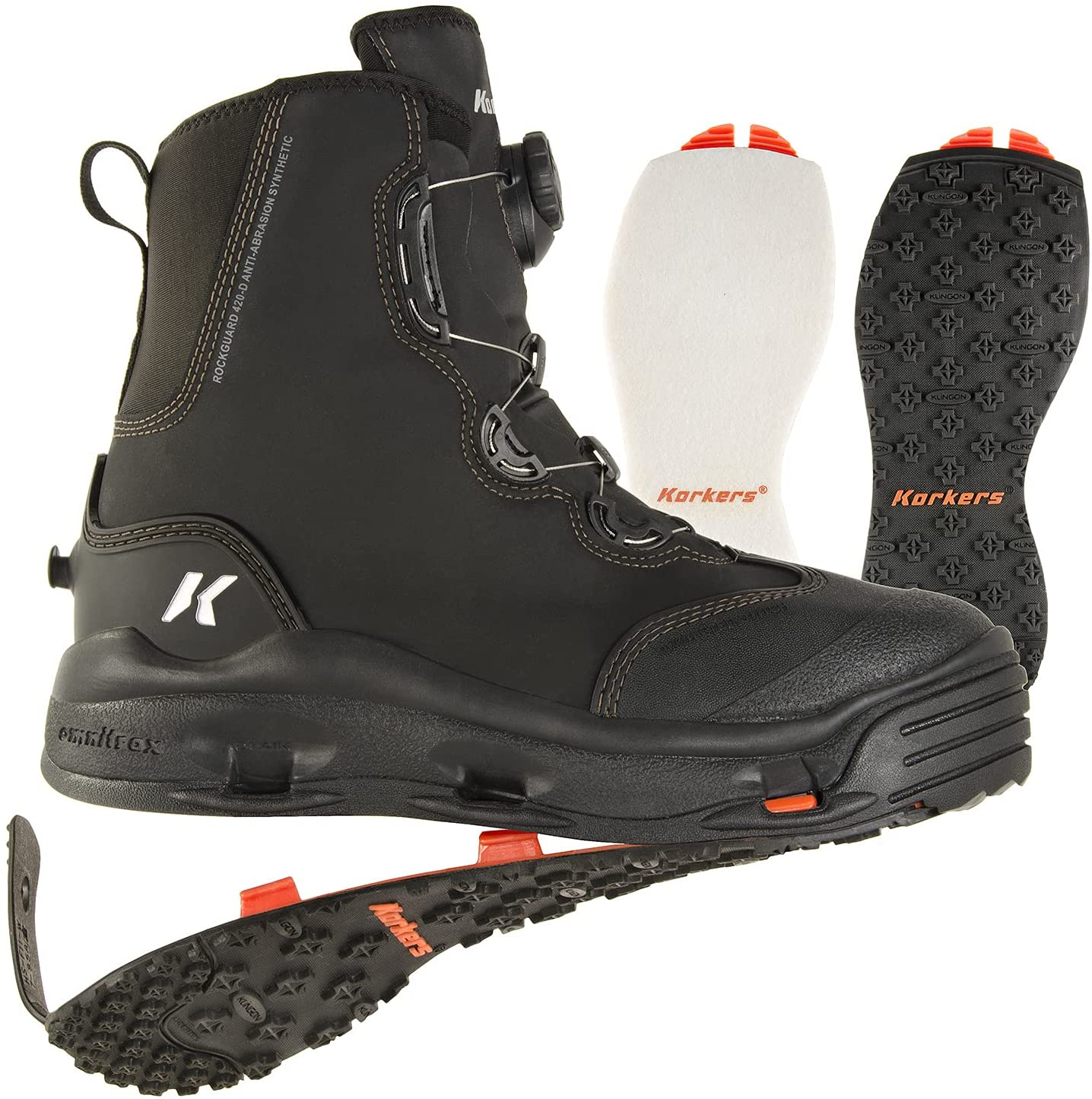 Korkers Devil's Wading boots reviews