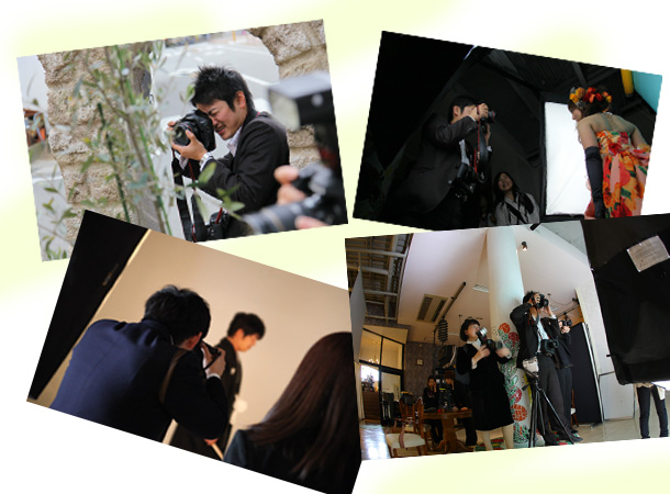 プロフィール写真撮影の流れ