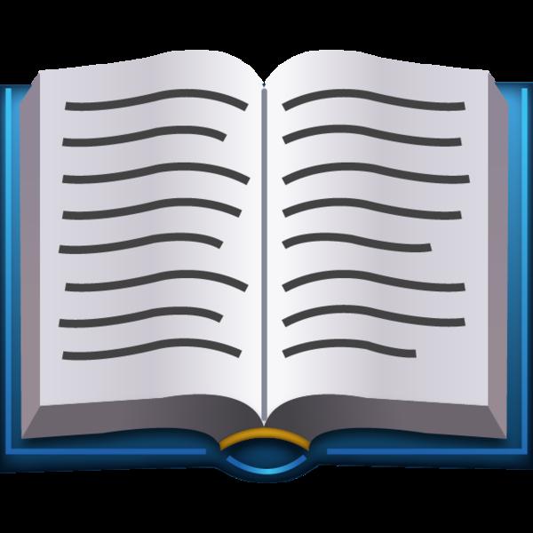 Download Open Book Emoji   Emoji Island