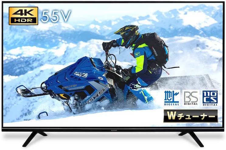 LUCA 4K対応テレビ 55インチ