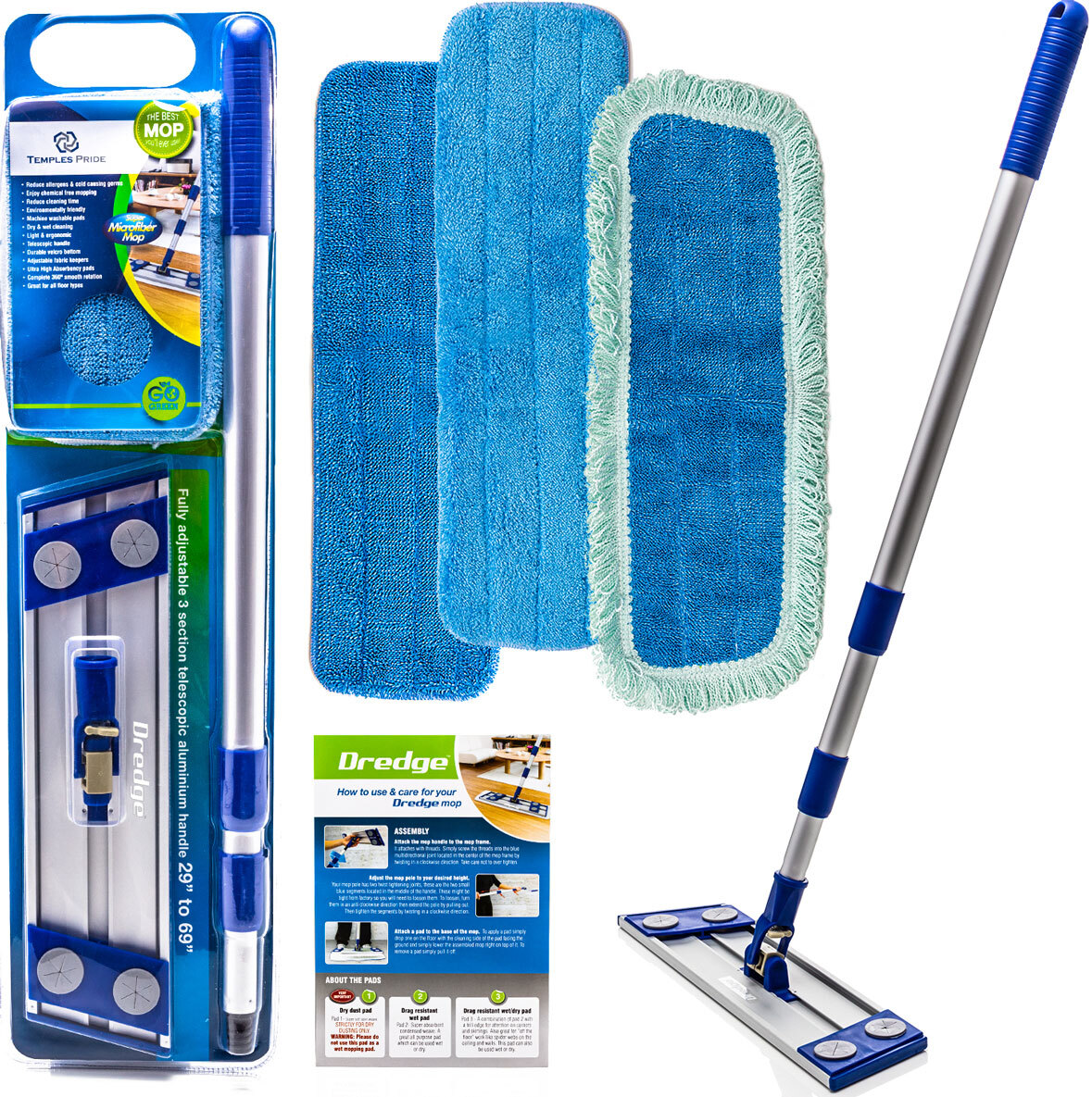5 Reasons Why Microfiber Dust Mops are Great for Cleaning Hardwood Floors