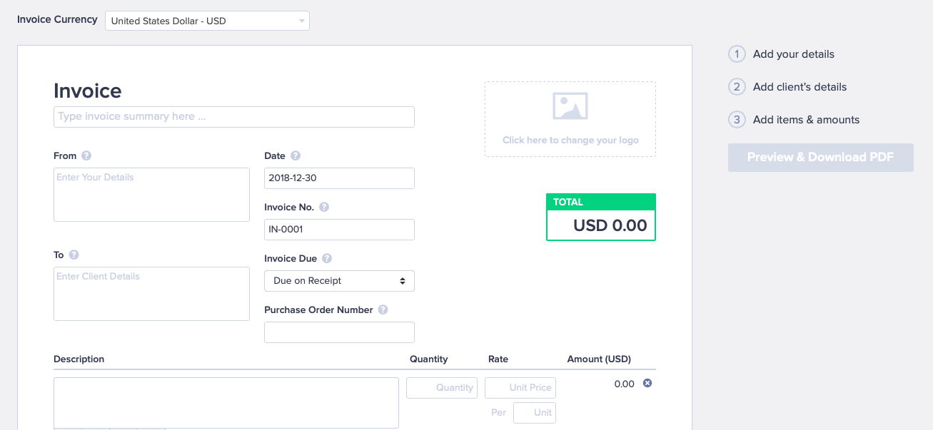 Top Free Invoice Generators for 2019 by Startup Stash