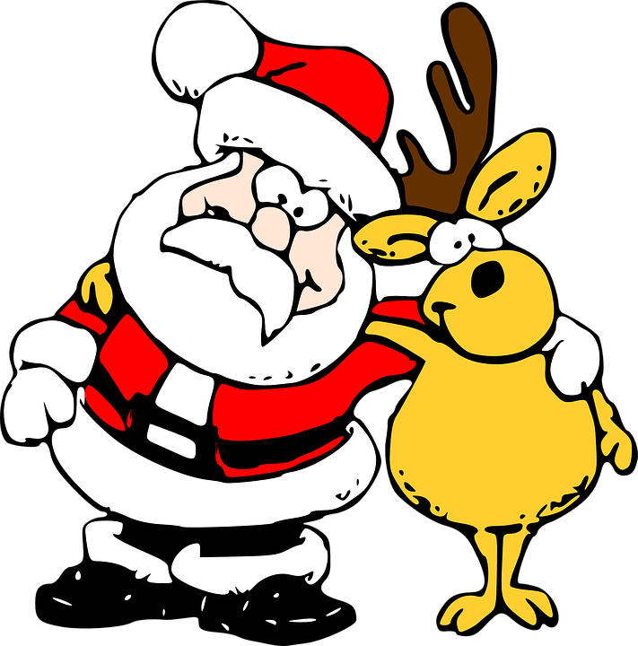 Santa, With, Sleigh - Free pictures on Pixabay