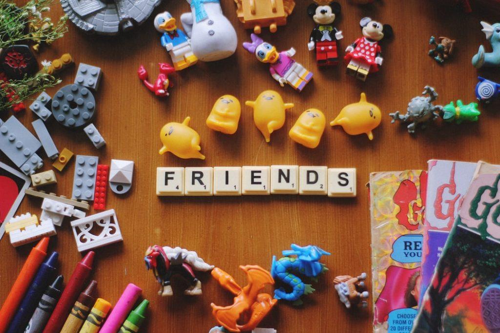 rentrée des classes et amitié