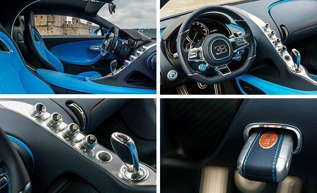 Image result for Interior Features of Bugatti Chiron