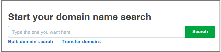 domanin name search