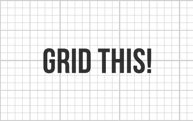 Layout Grid chrome extension