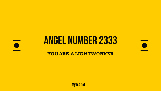 angel number 2333 meaning
