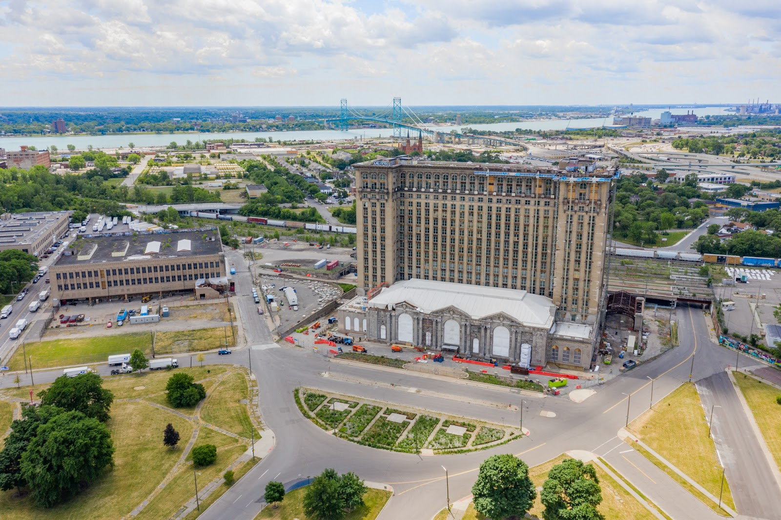 Corredor passará por pontos importantes, como a Michigan Central Station, na foto (Cavnue/Divulgação)
