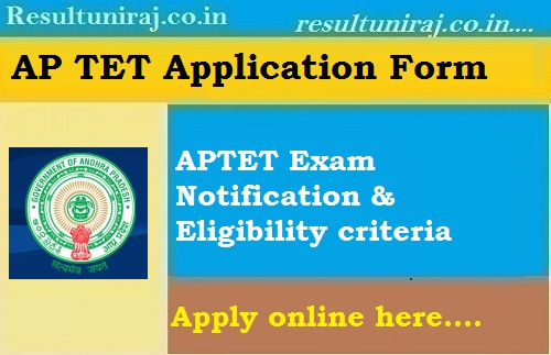 AP TET Application Form 2019