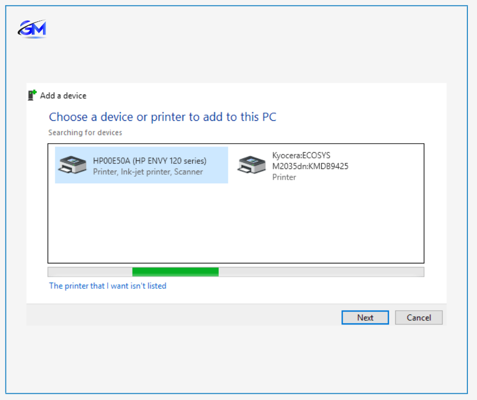 How to connect to a wireless printer windows 10