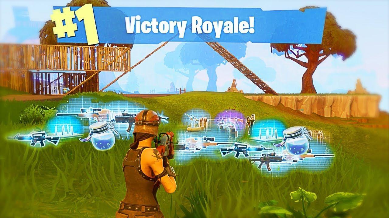 INSANE VICTORY ROYALE!! (Fortnite Battle Royale) - YouTube