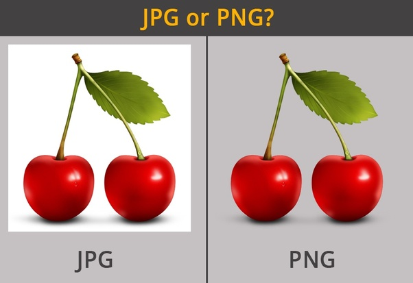 jpg vs png photo of cherry