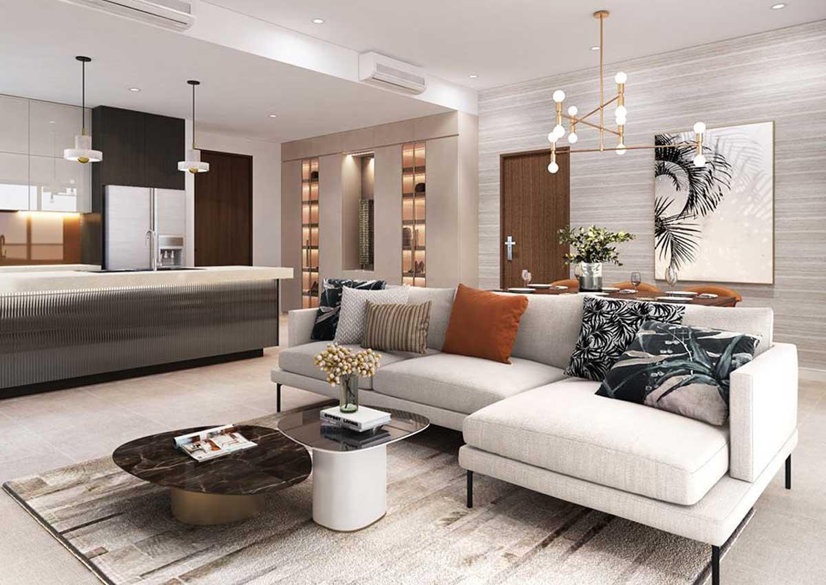 nhà mẫu căn hộ celesta rise