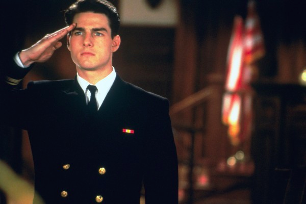 Tom Cruise plays Lt. Daniel Kaffee in A Few Good Men