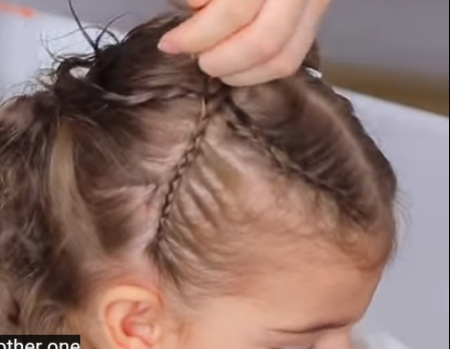 hairstyle for baby girl short hair